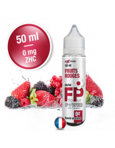 Fruits Rouges 50ML Flavour Power - Eliquide pas cher - Johnnyvape