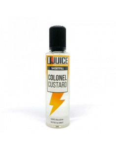 E Liquide gourmand - Colonel Custard - T-Juice - cigarette electronique - johnnyvape.fr