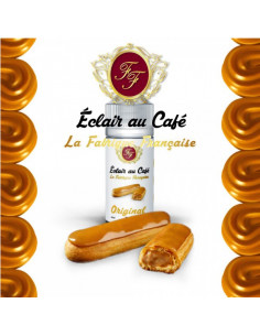 Arome Concentre L'eclair au café - Fabrique Francaise - Concentre  gourmand - JohnnyVape