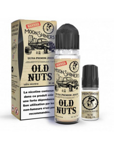 Old Nuts Moon Shiners 50ml  - Eliquide fruité  pas cher pour cigarette electronique - Johnnyvape